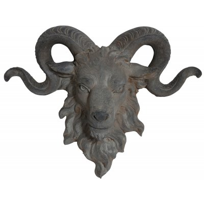 Trädgårdskonst Staty Horn (vägghängd) - B68 cm