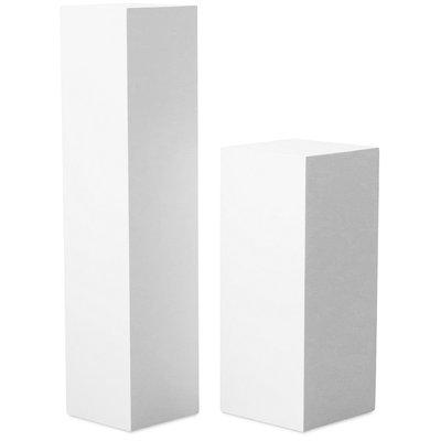 Piedestal LineDesign wood 90 cm - Vit