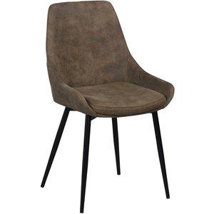 Jada stol - Mullvad/svart