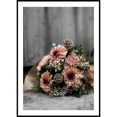 FLOWER BOUQUET - Poster 50x70 cm
