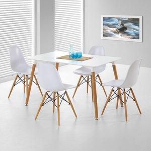 Nesto rektangulärt matbord - Vit