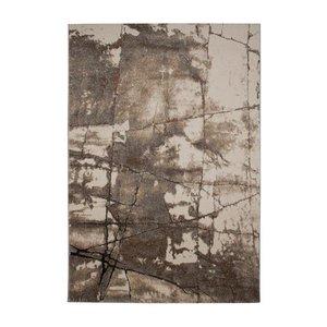 Maskinvävd matta Rom - Rostfärgad