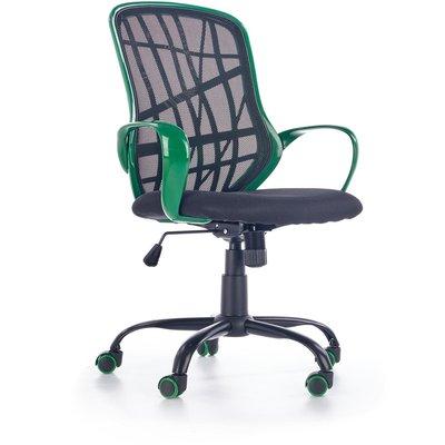 Evie kontorsstol - Svart/grön