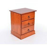 Sängbord Medford - Antik körsbär