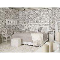 Vilma sänggavel till 180cm säng - vit