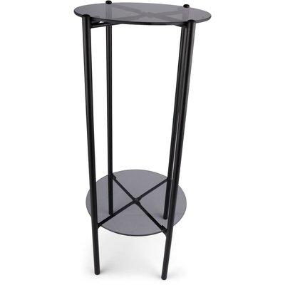 Piedestal Lilly - Glas/svart