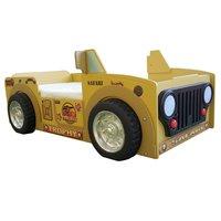 Jeep safari barnsäng - Gul