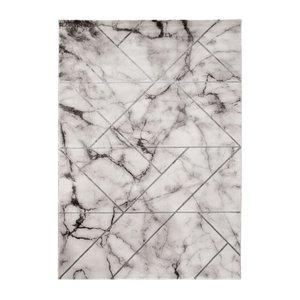 Maskinvävd matta - Craft Marble Silver