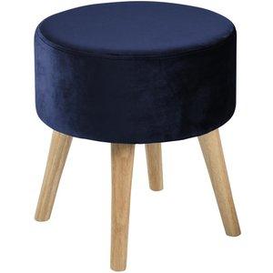 Hereford pall - Mörkblå (Sammet)