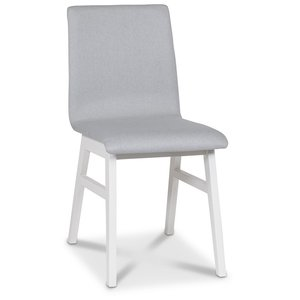 Molly stol - Ljusgrå/Vit