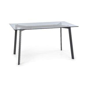 Stein matbord - Svart