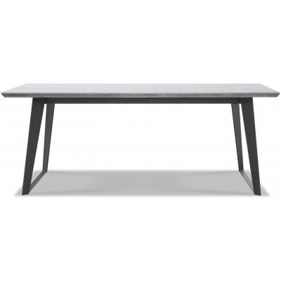 Ghost matbord med betongskiva - Svart