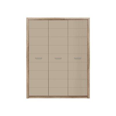 Pontus garderob - Ek/beige