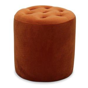 Space sittpuff - Orange sammet