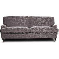 Howard Sir William 3-sits soffa (Dun) - Mobus Silver Floral