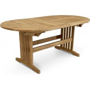 Saltö ovalt matbord i teak 150-210 cm butterfly - Teak