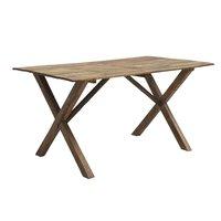 Clara matbord 210 cm - Rustikt trä