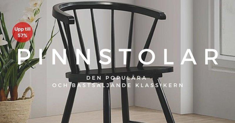 Pinnstolar - Upp till 57%