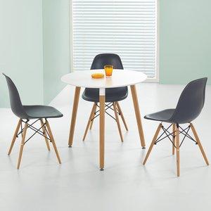 Nesto runt matbord - Vit