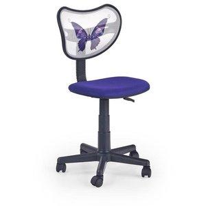 Cecile skrivbordsstol - Vit/lila