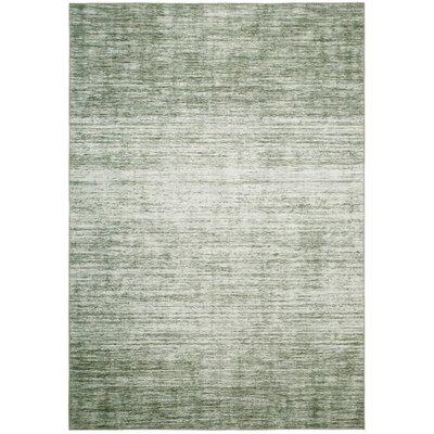 Maskinvävd matta Cleo Modern - Grön