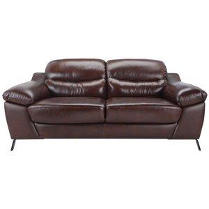 Flarken 3-sits soffa - Brun