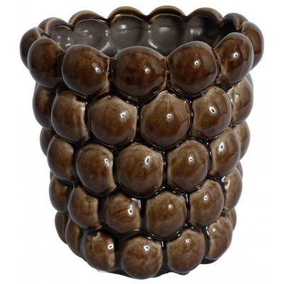 Vas Big Bouble H20 cm - Brun