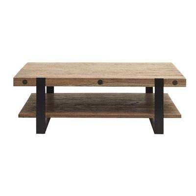 Sofia soffbord - Trä/svart