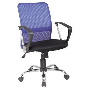 Elaine skrivbordsstol - Svart/blå
