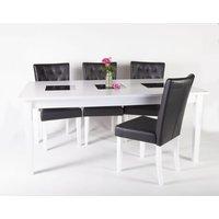 Halmstad matgrupp - Bord inklusive 6 st stolar
