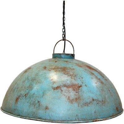 Torneträsk taklampa - Industriell blå