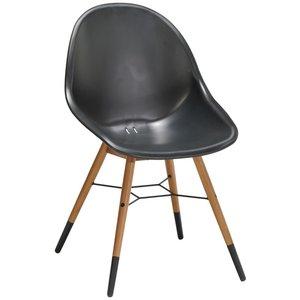 St Tropez stol utemöbel - Svart