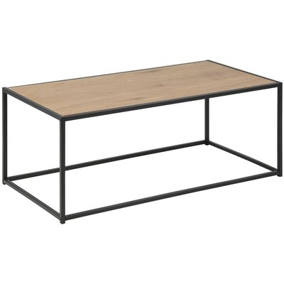 Lincoln soffbord - Ek/svart