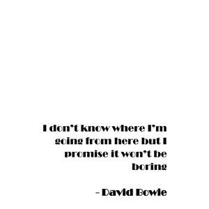 Poster David Bowie thumbnail