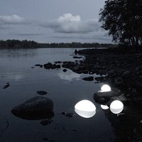 NordiForm MIMO LED utomhuslampa Large - Vit