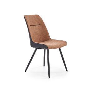 Ketil matstol - Brun/svart