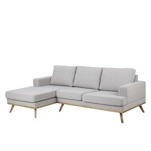 Ventura soffa - Ljusgrå - Vänster