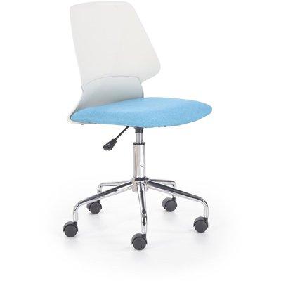 Dannie kontorsstol - Vit/blå