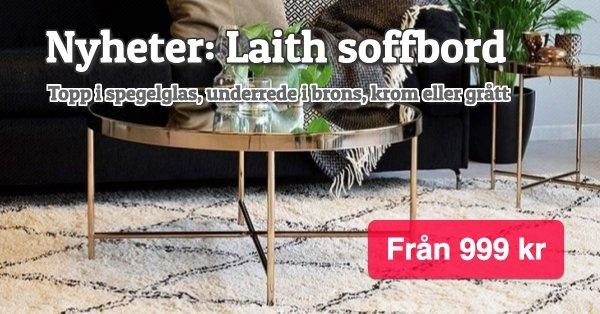 Laith soffbord - Nyheter - Från 999 kr