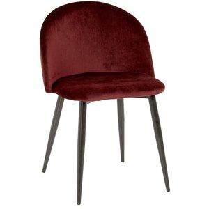 Darling stol - Bordeaux sammet