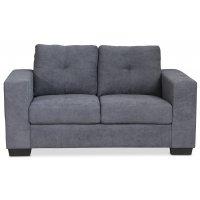 Friday 2-sits soffa - Grå Chenille