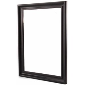 Spegel Stilren mellan - Svart