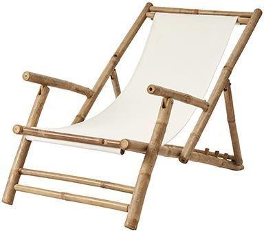 Antonio strandstol bambu - Natur
