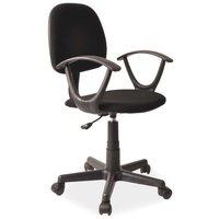 Ivanna skrivbordsstol - Svart