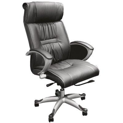 Kant skrivbordsstol - svart
