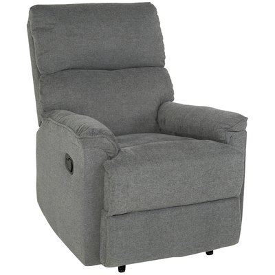 Newtown reclinerfåtölj - Grått tyg