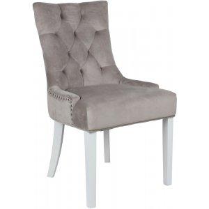Tuva stol Cleopatra - Beige Sammet