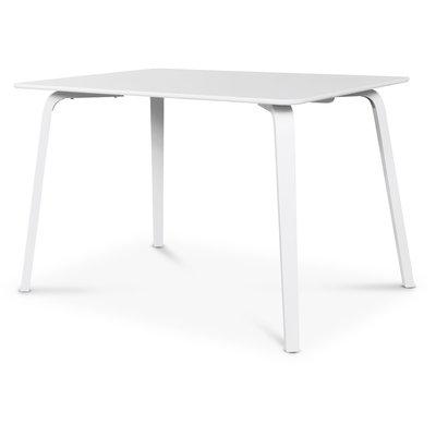 Visby matbord 120 cm - Vit
