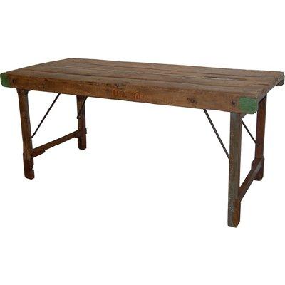 Värnamo vikbart matbord 150 cm - Vintage trä
