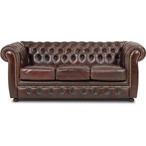 Dublin 3-sits soffa - Brun